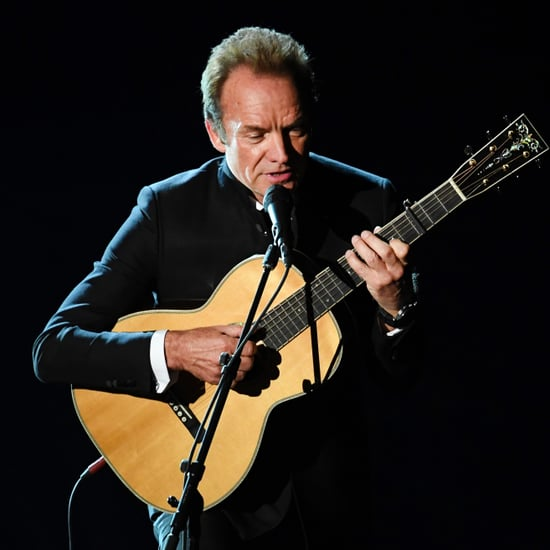 Sting's Performance at the 2017 Oscars