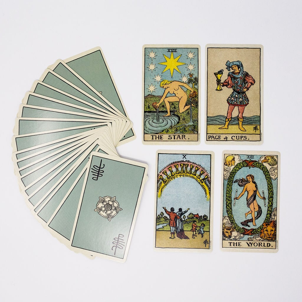 Smith-Waite Tarot Deck