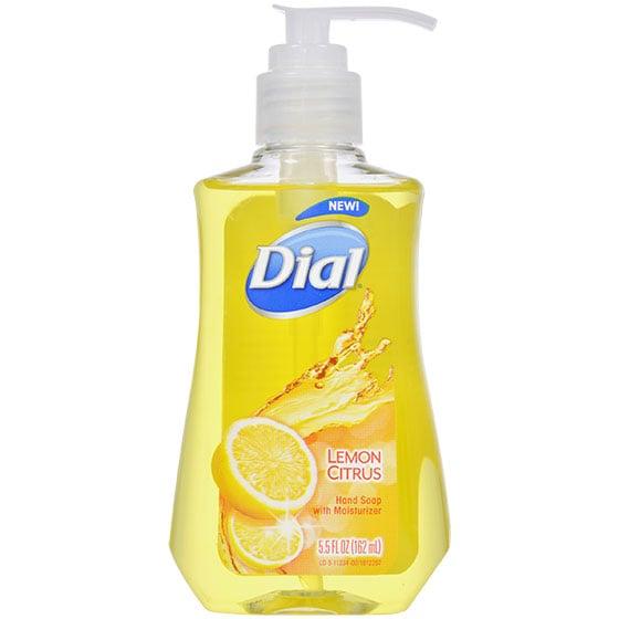 Dial Lemon Citrus Hand Soap With Moisturizer ($1 each)