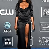 Issa Rae at the 2019 Critics' Choice Awards