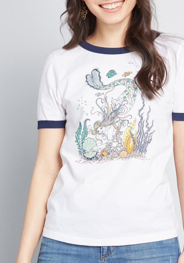 ModCloth x Dupenny Undersea Queen Mermaid Graphic Tee
