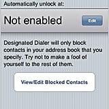Designated Dialer App