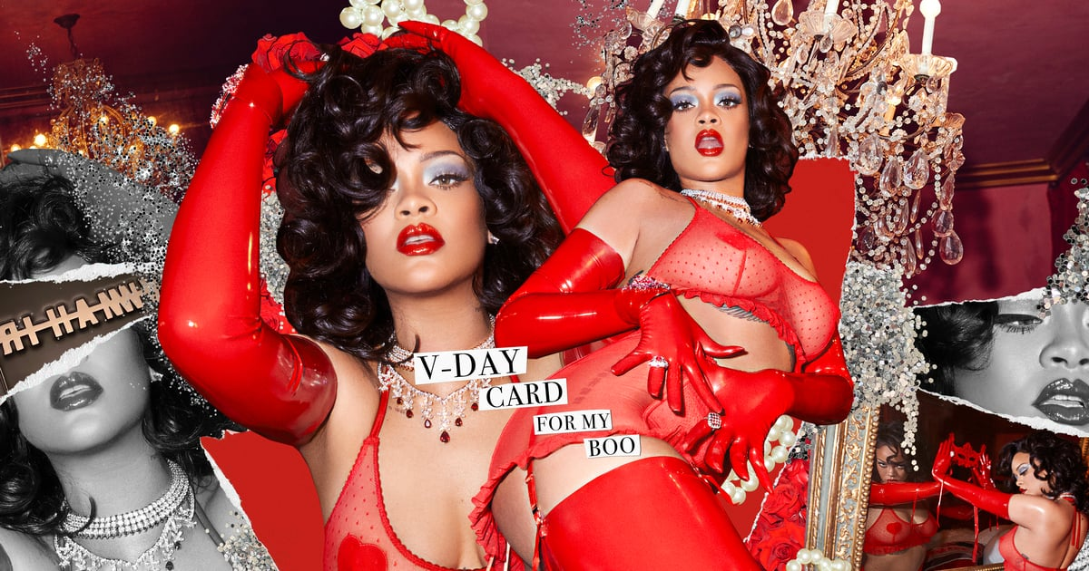 "Rihanna's New Savage Lingerie Comes With a ""V-Day Card For My Boo"""