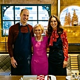 The Duke and Duchess of Cambridge With Mary Berry in A Berry Royal Christmas