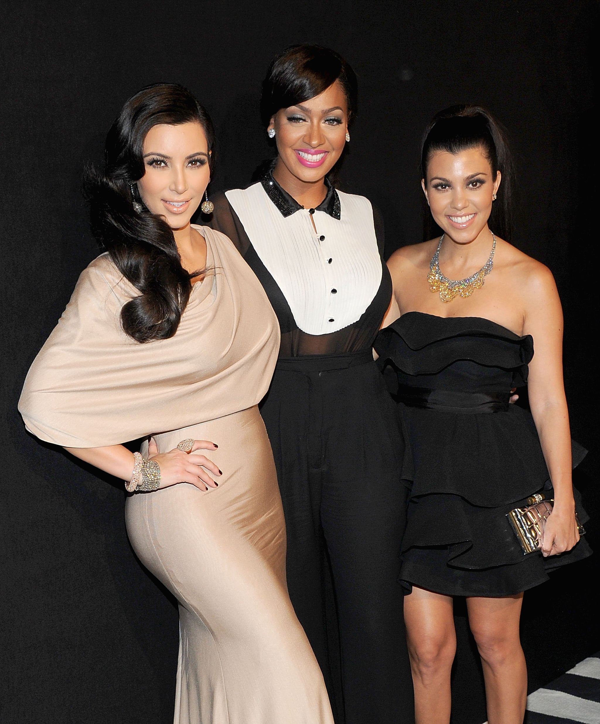 Kim Kardashian, Lia La Anthony, Kourtney Kardashian