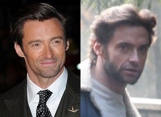 Photos of Hugh Jackman on Location For Wolverine, Poll on Hugh's Facial Hair