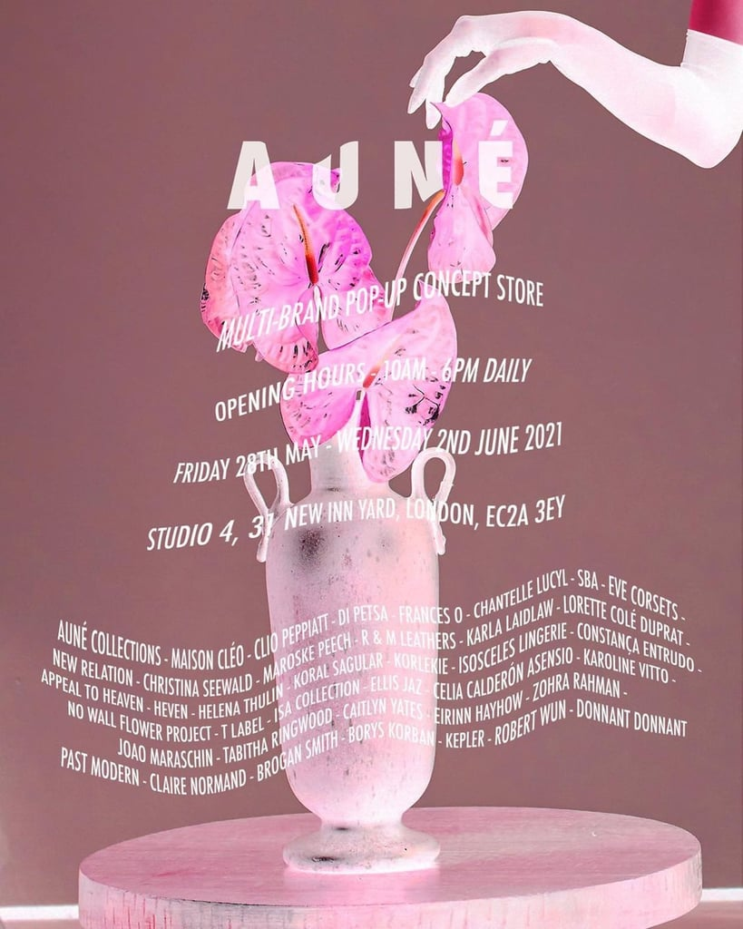 Auné London Hosts First Pop-Up Store in Shoreditch