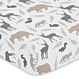 Sweet Jojo Designs Woodland Animals Fitted Crib Sheet