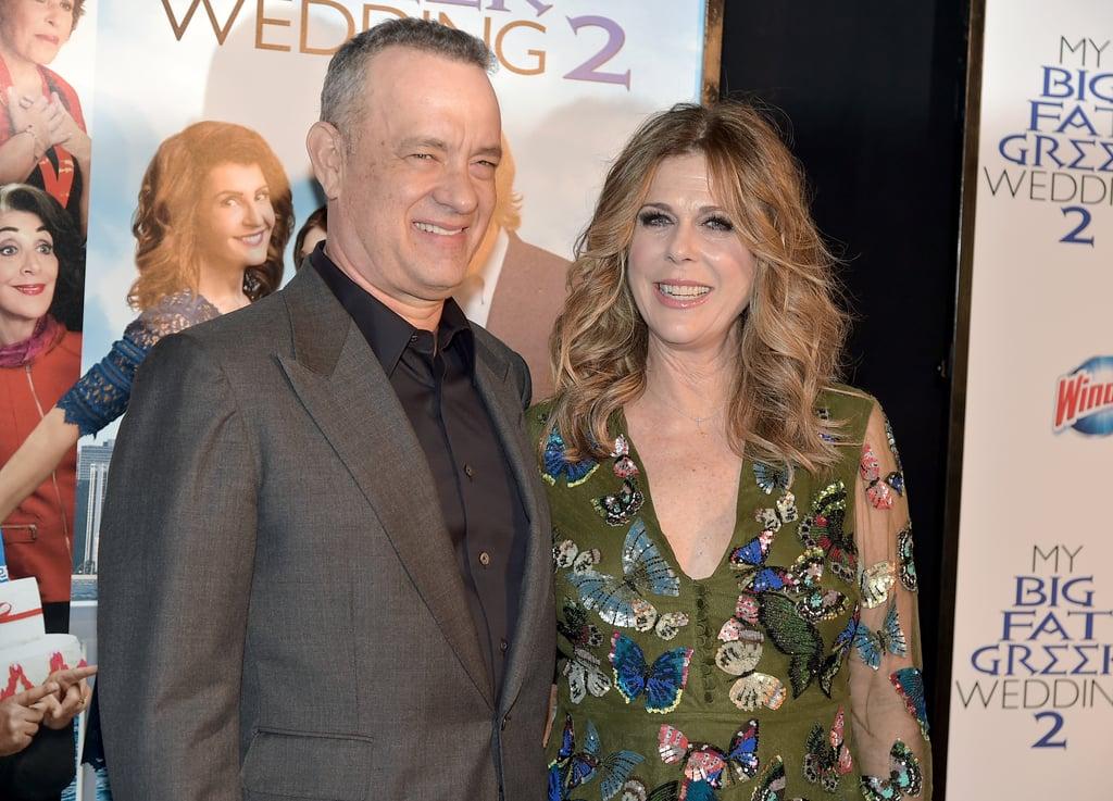 My Big Fat Greek Wedding 3.Tom Hanks At My Big Fat Greek Wedding 2 Nyc Premiere Popsugar