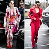 Celine's Bella Hadid Retro Suit Moment