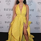 Jorja Smith at the 2019 Harper's Bazaar Women of the Year Awards