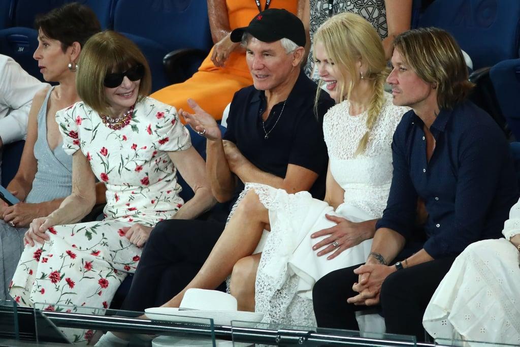 Keith Urban And Nicole Kidman To Renew Their Wedding Vows: Nicole Kidman And Keith Urban At The Australian Open 2019