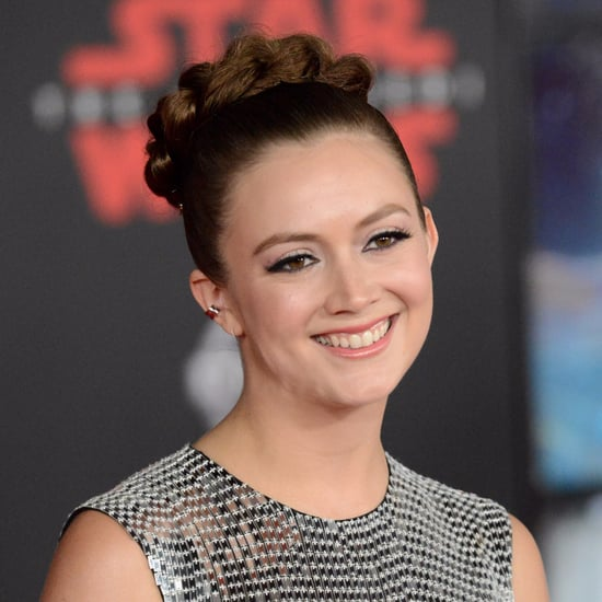 Billie Lourd Princess Leia Hairstyle at Star Wars Premiere