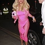 Rita Ora as a Barbie