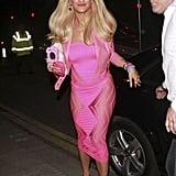 Rita Ora as a Barbie
