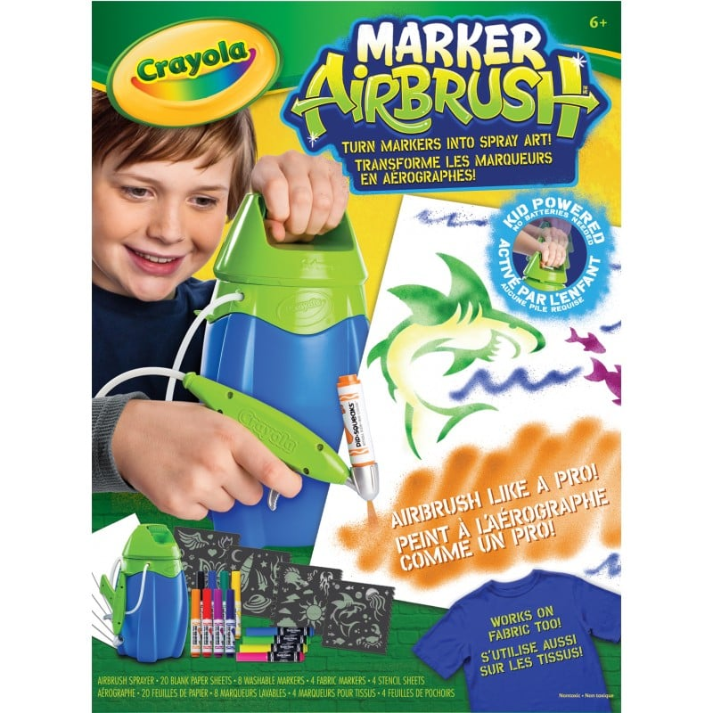 For 7-Year-Olds: Crayola Marker Airbrush