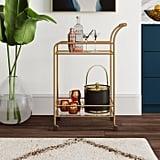 Ashley Furniture Signature Design Kailman Bar Cart | Best