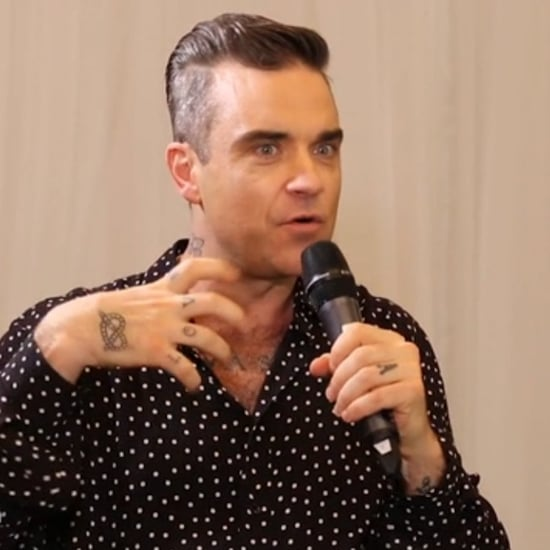 Robbie Williams Sam Frost Interview November 2016