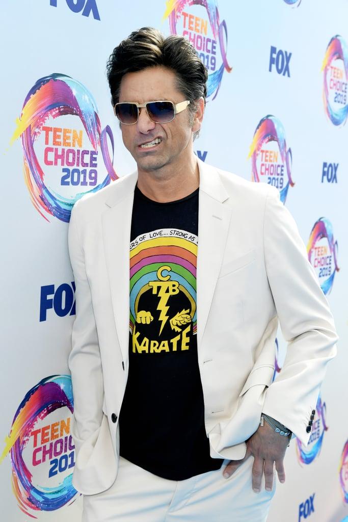 John Stamos at the 2019 Teen Choice Awards