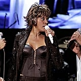 Dionne Warwick, Whitney Houston, and Natalie Cole perform together in July 2004 on the stage of the Olympic Hall in Munich.