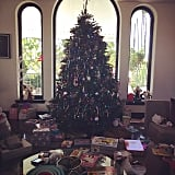 Busy Philipps showed off the aftermath of Christmas morning.