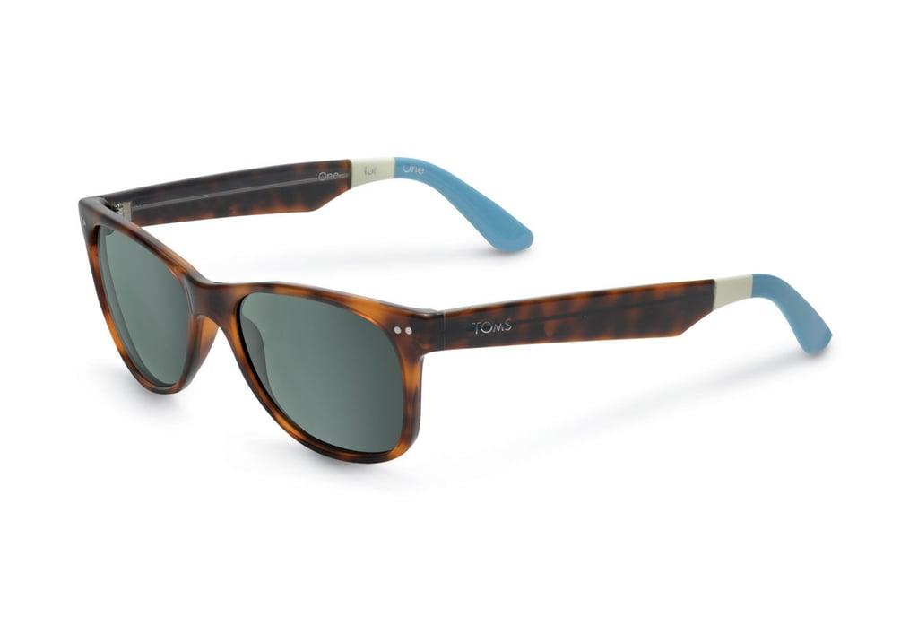 TOMS Beachmaster Tortoise Sunglasses