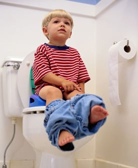 Potty Training without Training Pants