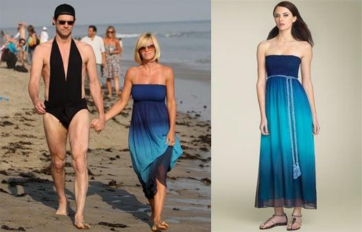 Found! Jenny McCarthy's Blue Ombre Maxi Dress