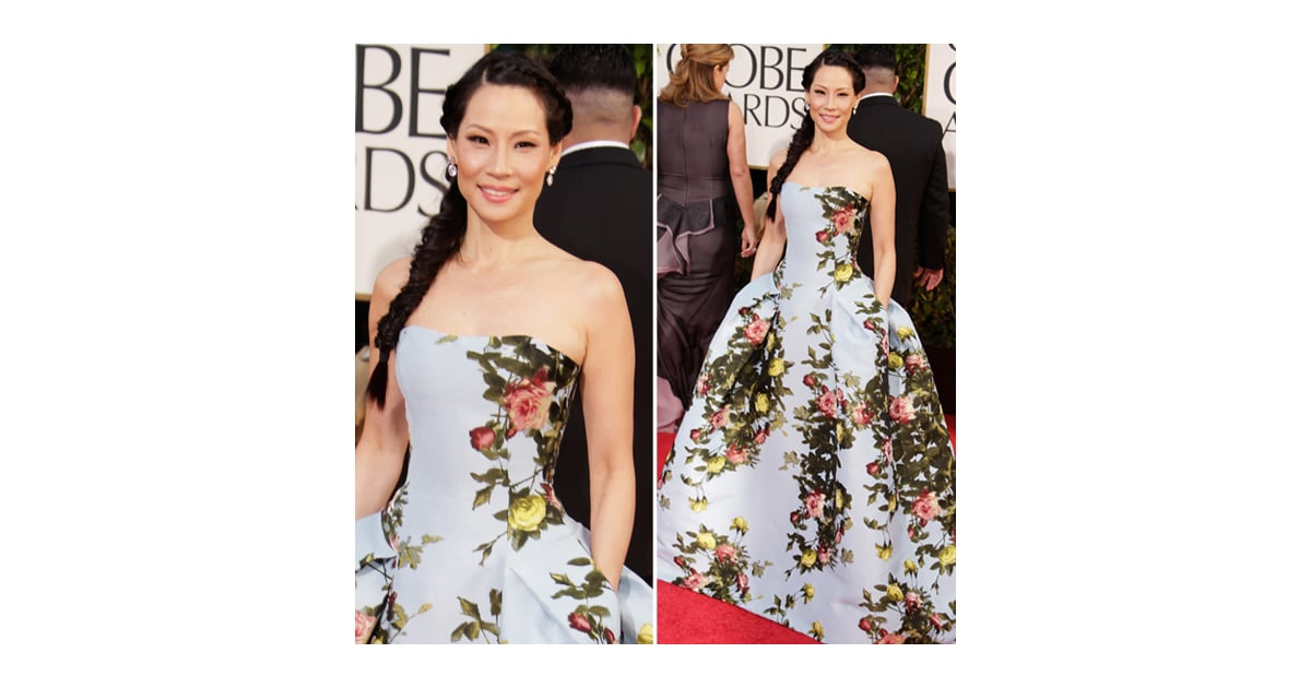 Golden globes 2018 dresses lucy liu images