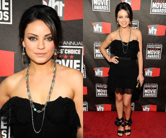 Mila Kunis at 2011 Critics' Choice Awards