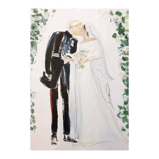 Poppy Waddilove Royal Wedding Illustrations