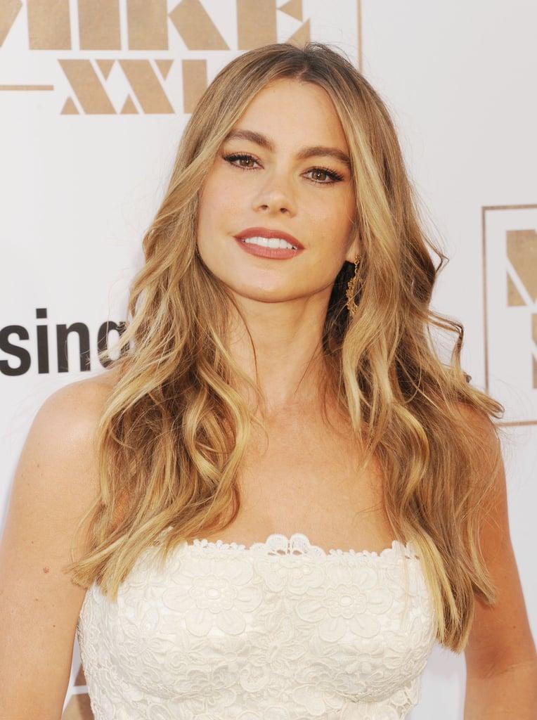Sofia Vergara's Sandy Blond Hair