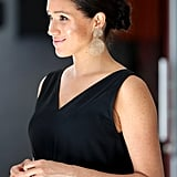 Meghan Markle's Gold Earrings in Cape Town, South Africa