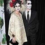 Debra Messing and Daniel Zelman