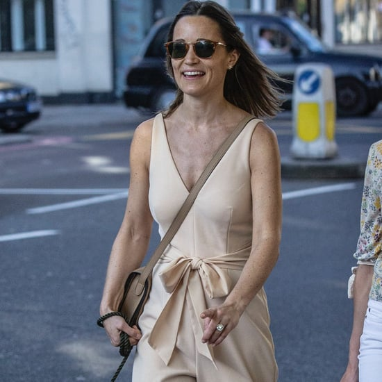 Pippa Middleton Cream Jumpsuit