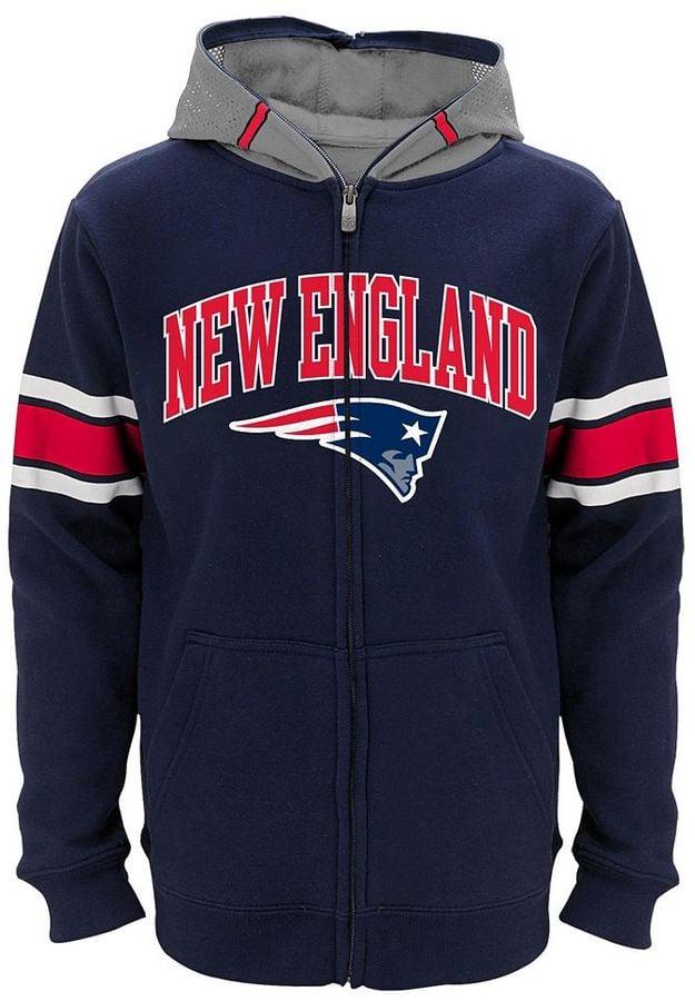 boys new england patriots sweatshirt