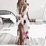 Sunward Boho Floral Dress