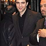 Robert Pattinson Heads to His Paris Premiere With Costars Reese and Christoph
