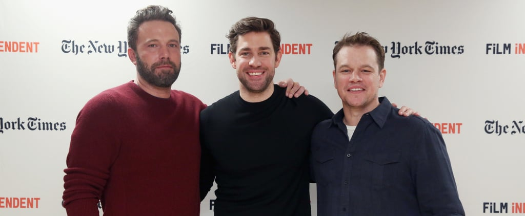 Ben Affleck and Matt Damon Reprise Their Good Will Hunting Roles With Help From John Krasinski