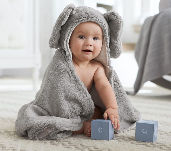 Pottery Barn Kids Critter Bath Wrap