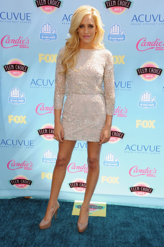Carly Chaikin attended the 2013 Teen Choice Awards.