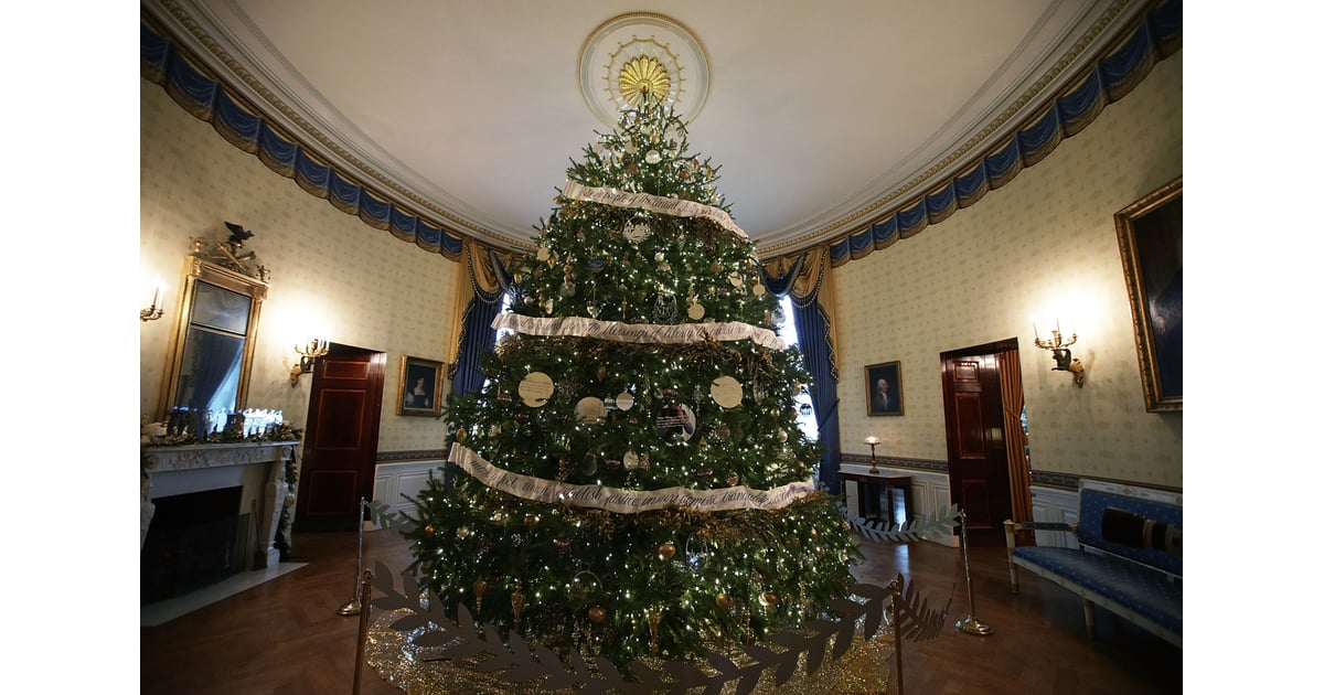 The Official White House Christmas Tree Is A Whopping 19
