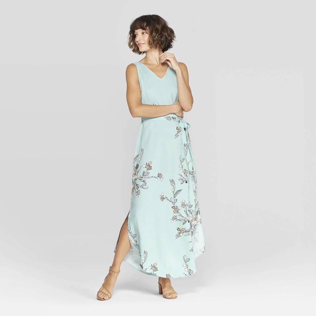 8dd00c130ce1f Floral Print Sleeveless V-Neck Woven Maxi | Best Spring Dresses at ...