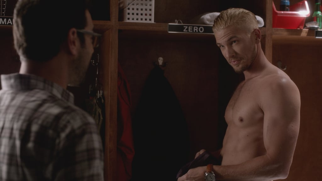 Shirtless tv scenes in 2016 popsugar celebrity australia for Hit the floor zero