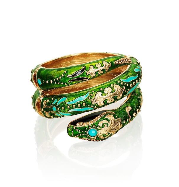 "Editors' Pick: This bangle just screams ""Anna Dello Russo,"" and since we're totally inspired by her daring style, we're willing to try this one on."