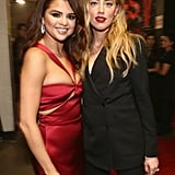 Pictured: Selena Gomez and Amber Heard