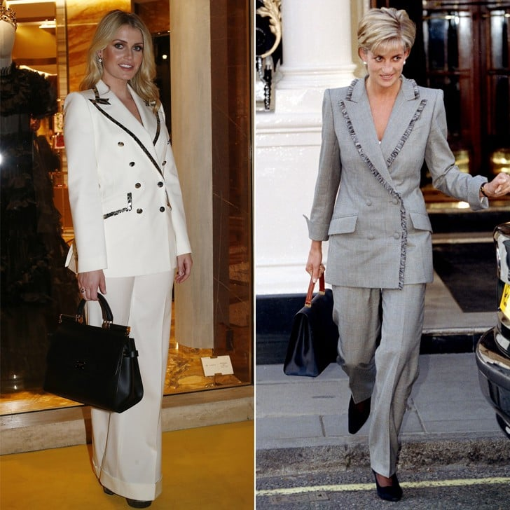 a399106f Lady Kitty Spencer Dolce & Gabbana Suit 2019 | POPSUGAR Fashion