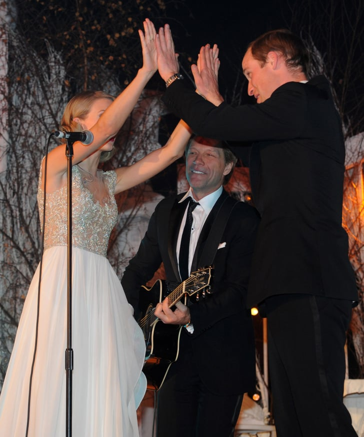 10 Celebrity Wedding Details You Can Totally Copy On A: And Gave Wills A Double High-Five!