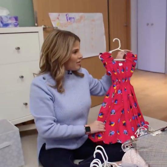 Marie Kondo Cleans Jenna Bush Hager's Toddler's Closet