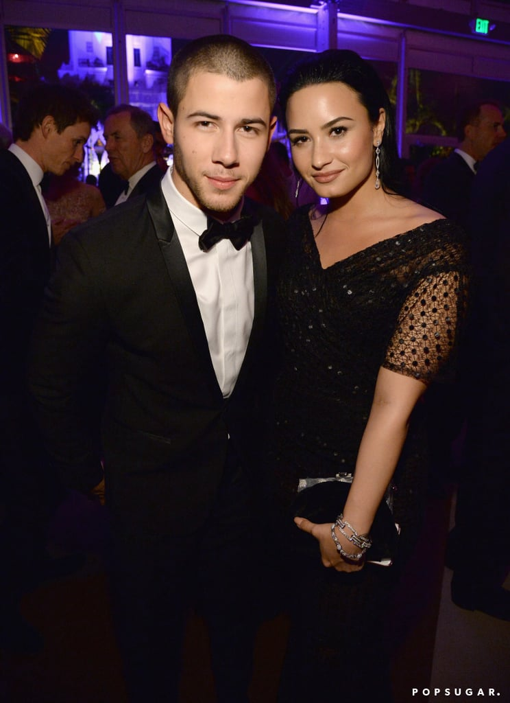 Pictured: Nick Jonas and Demi Lovato